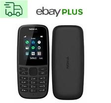 Nokia 105 (2019) Dual-SIM black, 4 MB, FM Klassisches  Design Schwarz  BRANDNEU