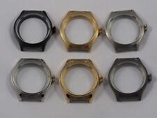 Pilot watch case for 6497 6498 ST3600 ST3621 movement gold silver titanium pvd