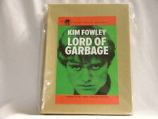 KIM FOWLEY Lord Of Garbage limited edition NEW box set Paperback Book SIGNED