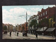 More details for rp vintage postcard - leics #c2 humberstone gate, leicester - hartmann tramlines