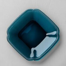 New listing Hearth & Hand Magnolia Appetizer Plates Blue Glass set of 4 Farmhouse Lot Have 8