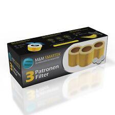 3x Patronen-Filter für Kärcher WD 2 WD3 WD 3 Premium WD 3 P Extension WD2