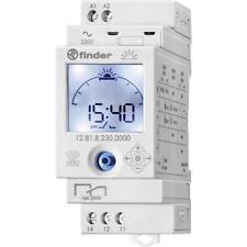 Finder 12.81.8.230.0000 ASTRO Zeitschaltuhr mit Wochenprogramm 1 Kanal NFC
