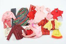 New ListingVintage Lot Mixed Barbie Mattel Dress Vest Coats & Other Doll Clothing Figure