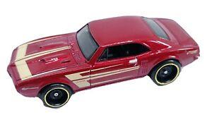 2017 Hot Wheels Muscle Mania '67 Pontiac Firebird 400 Metalflake Red ©1