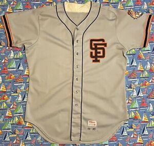 Authentic Wilson MLB San Francisco Giants 1983 Scott Garrelts Baseball Jersey