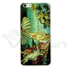 """PELLICOLA+Custodia cover rigida pr Apple iPhone 6 6S PLUS 5.5"""" BOTTICELLI VENERE"""