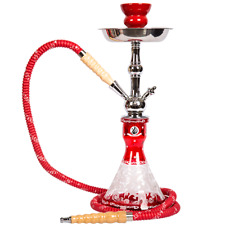 "100% Authentic Starbuzz Unicus Hookah 17"" Table Top Hookah Complete Set- RED"
