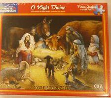 White Mountain 1000 Pc Puzzle O Night Divine 485