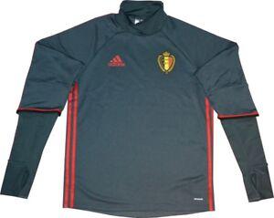 adidas Belgien Nationalmannschaft, KBVB Sweatshirt Trainingsshirt