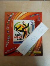 Panini COUPE DU MONDE 2010 SOUTH AFRICA-vide Sticker Album + jeu complet