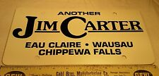 Advertising Dealership Plastic License Plate Auto Chippewa Falls Eau Claire WI