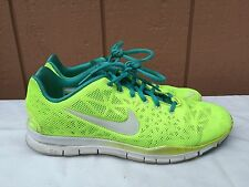 Women's Nike Free TR Fit 3 579968 700 US 10.5 EUR 42.5 Volt Highlighter Yellow