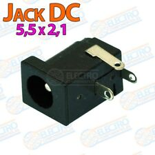 Conector alimentacion DC Jack 5,5mm x 2,1mm para PCB - HEMBRA - Lote 1 unidad -