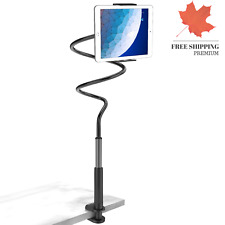 Gooseneck Tablet Stand - Tablet Mount Holder Compatible with iPad iPhone Seri...