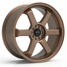 4-NEW Drifz 303BZ Hole Shot 16x7 4x100/4x108 +42mm Bronze Wheels Rims