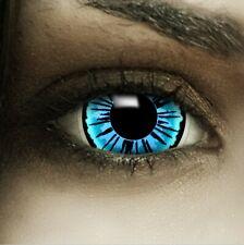 "Maxi Sclera Lenses ""Engel"" blaue Kontaktlinsen Crazy Farbige Halloween Linsen"