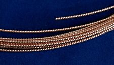 Rose Gold-Filled Pattern Twist Wire 14/20 (Soft)