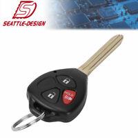 for Toyota 2007 2008 2009 2010 2011 2012 2013 Yaris Keyless Remote Car Key Fob