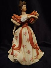 Vintage Lenox Victorian Lady Figurine 'First Waltz' Porcelain Sculpture (Japan)