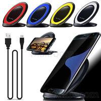 QI Wireless Induktive Charge Ladestation Ladegerät Für Samsung Galaxy S6/S7 edge