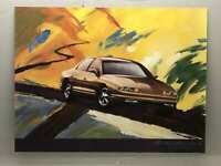 "Vintage Aurora By Oldsmobile Poster Print25""X 19"" USA"