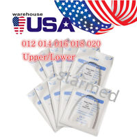 10pcs AZDENT Dental Orthodontic Super Elastic Niti Arch Wire Round Ovoid Form US