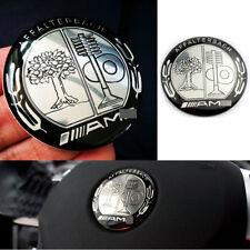 NEW A.M.G STEERING WHEEL BADGE 2.0inch/52mm Affalterbach Emblem Decal w/ Sticker