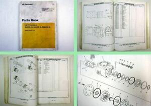 Daewoo D20S-3 D25S-3 D30S-3 Lift Trucks Parts Book Parts List 06/2000