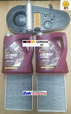 BMW 520 D 520D F10 F11 Service Kit,Oil,Air,Fuel,Pollen Filters|10L oil+Sump Plug