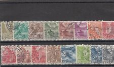a102 - SWITZERLAND - 1936 USED VARIOUS LANDSCAPES 16v - FULL SET
