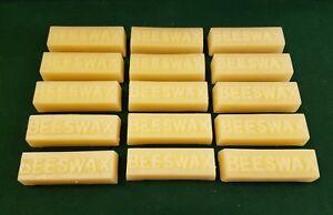 LIBERON Pure Beeswax block x 15  - 100% pure and natural bees wax