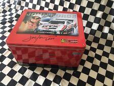 JOHN FORCE 2000 * SIGNED* TOOL BOX TIN SOCKET SET + CASTROL GTX 1/24 DIECAST
