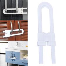 Child Baby Safety Cabinet Door Cupboard Drawer Handles Lock Children Security