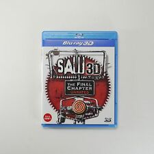 Saw - The Final Chapter 3D Blu-ray [Korea Edition, Region Free, Unrated, 1Disc]