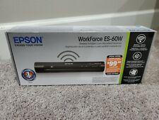 Epson Workforce ES-60w--New!!!