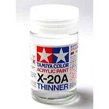 TAMIYA COLORI ACRILICI PER PLASTICA X20A ACRYLIC THINNER (46ml) FOR PLASTIC