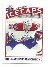 2015-16 St. John's IceCaps (AHL) Markus Eisenschmid (Adler Mannheim)