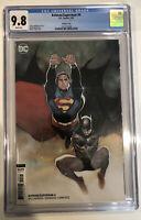 Batman/Superman #4 CGC 9.8 Batman Variant cover 2020 Olivier Coipel