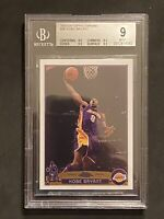 2003-04 topps chrome kobe bryant 36 BGS 9 HOF Slab Lakers