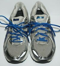 men's Asics GT-2170 Running Shoes, size 10, silver/blue, in very good condition