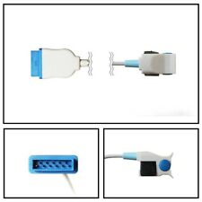 Ge Marquette Pediatric Hard Shell Finger Spo2 Sensor 11 Pin Connector Cable 10ft