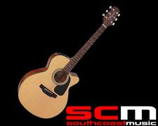 RRP$569 Takamine ED2NC NAT NEX Acoustic-Electric Guitar With Pickup Natural