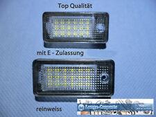 LED SMD SET Audi Kennzeichenbeleuchtung Kennzeichen Leuchte  NEU
