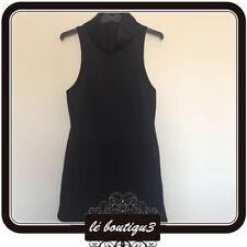 C/MEO COLLECTIVE Scuba Black Dress Size XS (15A)