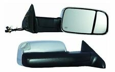 2010 2011 2012 Dodge Ram 1500 2500 3500 Passenger Side Chrome Heat Power Mirror