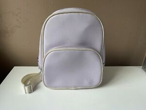 LACOSTE Ladies Lilac Small Bag Backpack