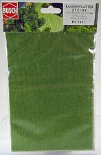 Busch 7431 3-D-Dekorplatte »Rasenpflastersteine«