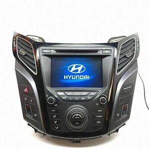 HYUNDAI I40 MK1 (VF) 2011 On Navigation Radio Unit & Surround Trim 96560-3Z000