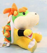 Super Mario Bros Bowser Koopa Jr. Stuffed Plush Doll 18CM Soft Toy